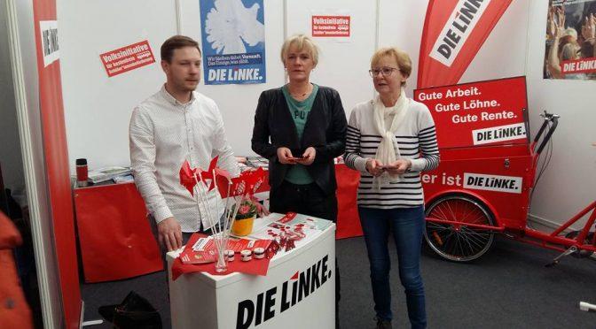 Starkes LINKES Angebot auf der Hanseschau in Wismar