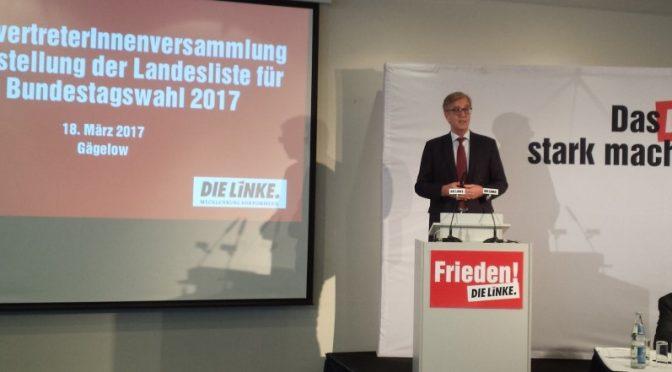 Dietmar Bartsch zum Spitzenkandidaten gewählt