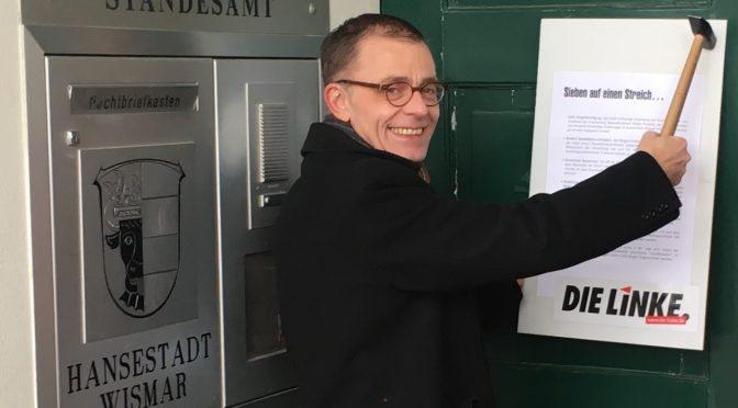 Sieben auf einen Streich – Bürgermeisterwahl 2018 in Wismar