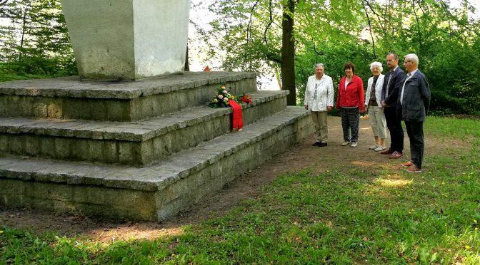 Ehrendes Gedenken zum Tag der Befreiung in Gadebusch
