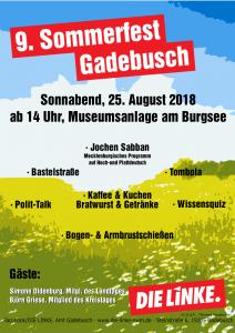 Sommerfest der LINKEN @ Museumsanlage Gadebusch | Gadebusch | Mecklenburg-Vorpommern | Deutschland