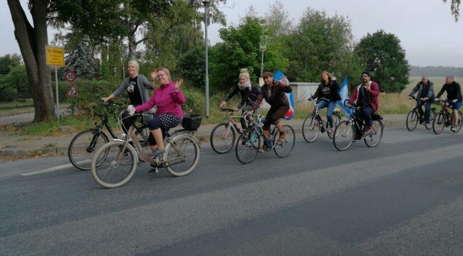 Radtour zum Weltfriedenstag von Parchim nach Neustadt-Glewe