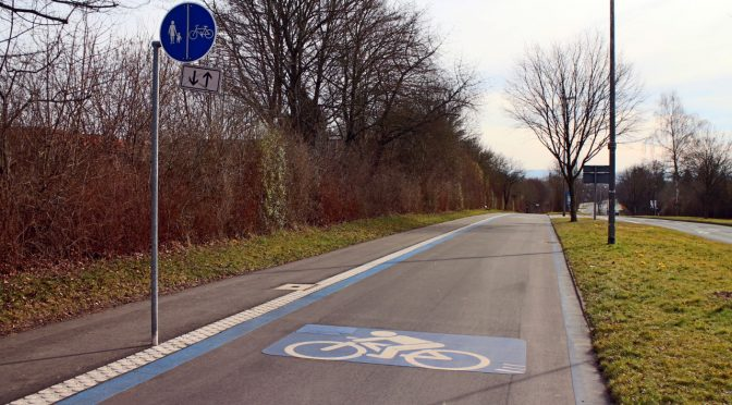 Lückenschluss Ja – Radschnellweg – Nein