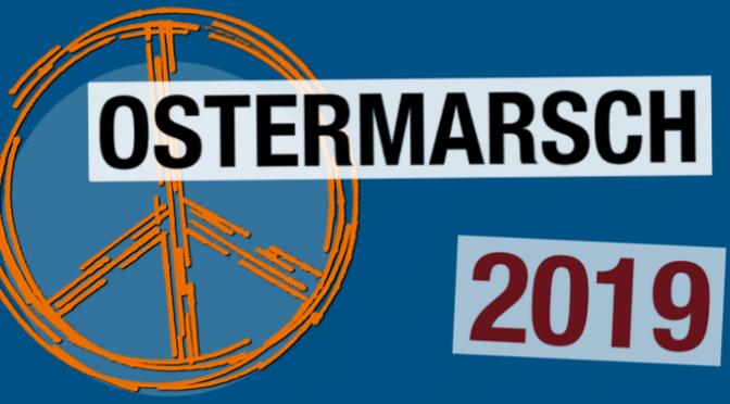 Ostermarsch Wismar 2019 – Für Frieden und Freiheit weltweit – Aufrüstung stoppen!