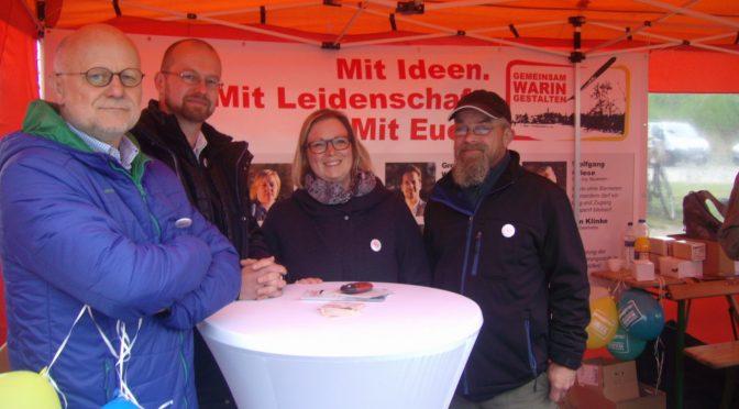 1. Mai in Warin und die Wählergemeinschaft GWG