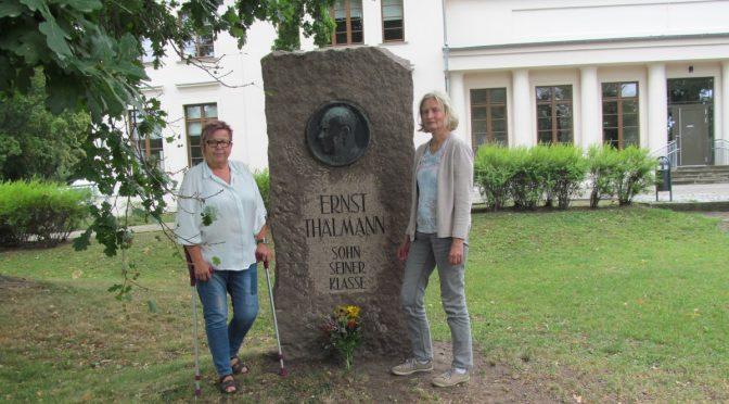 75. Jahrestag der Ermordung Ernst Thälmanns