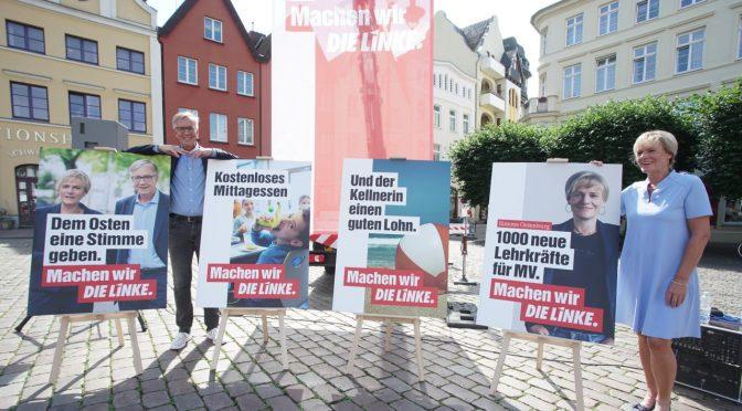 DIE LINKE stellt Kampagne zur Landtagswahl vor