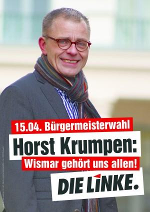 Horst Krumpen: Wismar gehört uns allen